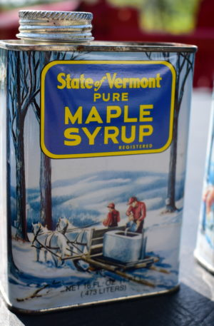 Maple Syrup Tin Can for Sale in Vermont