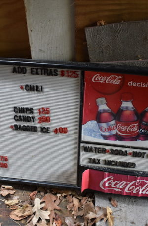 Snack Bar Sign for Sale