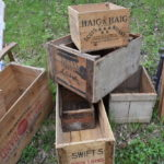 Vintage Wooden Boxes for Sale